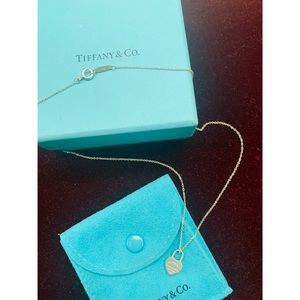 Tiffany & Co. Mini Heart Tag Necklace